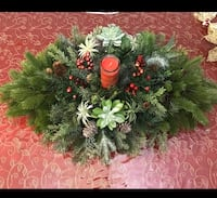 Christmas centerpiece for you.  Somerset, 08873