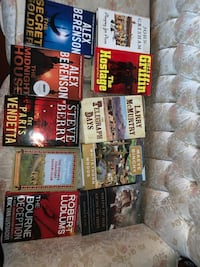 Books for sale $5 each book. Can be sold individually  Springfield, 22150