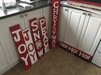 Custom Christmas pallet decor
