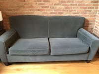 Grey Sofa and Matching Arm Chair CHICAGO