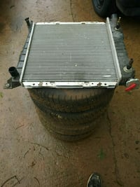 Radiator and 15 inch wheels Meridianville