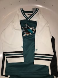 Authentic Kids Sharks Jersey