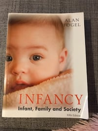 Infancy: infant, family, and society textbook Gilbert, 85296