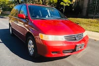 2003 Red Honda Odyssey // Drives Great// very clean