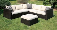 Ivory Sectional With Ottoman  San Diego, 92126