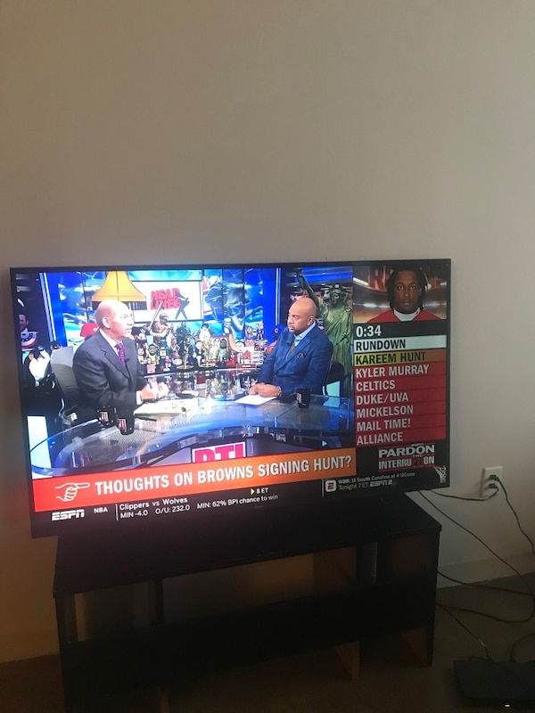 """I have a 65"""" Samsung Smart 4K Ultra HDTV in great condition  It is equipped  with Netflix, Hulu, YouTube, the internet, and more  Also Comes with"""