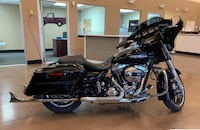 black and chrome touring motorcycle Las Vegas, 89123
