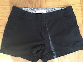 J. Crew black shorts - chino - size 4