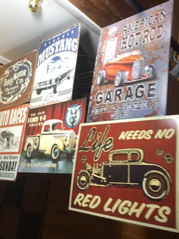 12x16 Vintage Tun Signs -FORD, ROUTE 66, HOT ROD- ce3b23d3-7c5c-41a5-9a42-245d0bf0c6b2