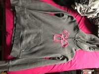 gray and pink Nike pullover hoodie Toronto, M8V 1K8