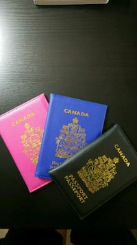 Passport holder Cover ID Vancouver, V5P 3Y7