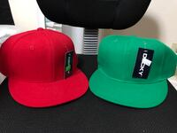 Red and green SnapBack