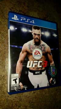 UFC 3 for PS4 (Excellent condition only $15)