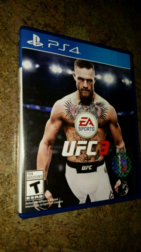 UFC 3 for PS4 (Excellent condition only $15) 27197430-5b6c-469e-a828-808e90c7a3dd