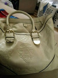 white leather 2-way handbag Hagerstown, 21740