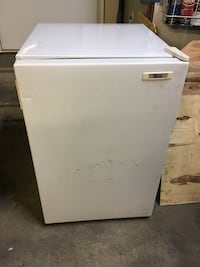 White Gibson compact refrigerator
