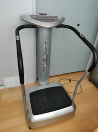 Vibration Massage Machine - Crazy Fitness