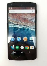 LG Nexus 5 -16GB/BLACK/ CHARGER IN/ UNLOCKED/AVAILABLE Ottawa