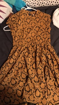 women's brown and black floral dress North Myrtle Beach, 29582