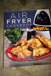 Please READ description first!!AIR FRYER RECIPE/COOKBOOK Silver Spring, 20902