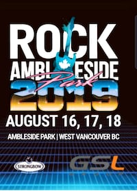 2 three day passes for sale Victoria, V9A 0B4