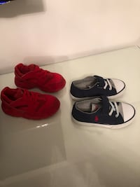 Toddler unisex shoes size 9 us  Laval, H7W 4G8