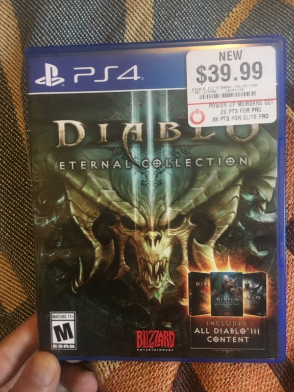 Brand new diablo 3 PS4 with all DLC!!