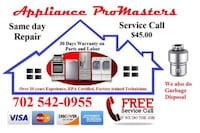 Appliance Repair North Las Vegas