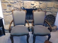 (2) Wing back chairs $45 both  Oklahoma City, 73120