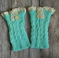 Blue Leg Warmers Boot Socks Phoenix, 85008