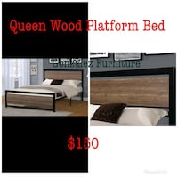 brown wooden bed frame  Tolleson, 85353