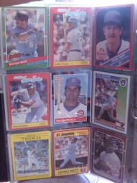 nine assorted baseball trading cards Santa Rosa, 95401