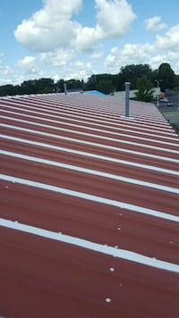 Roof coating.