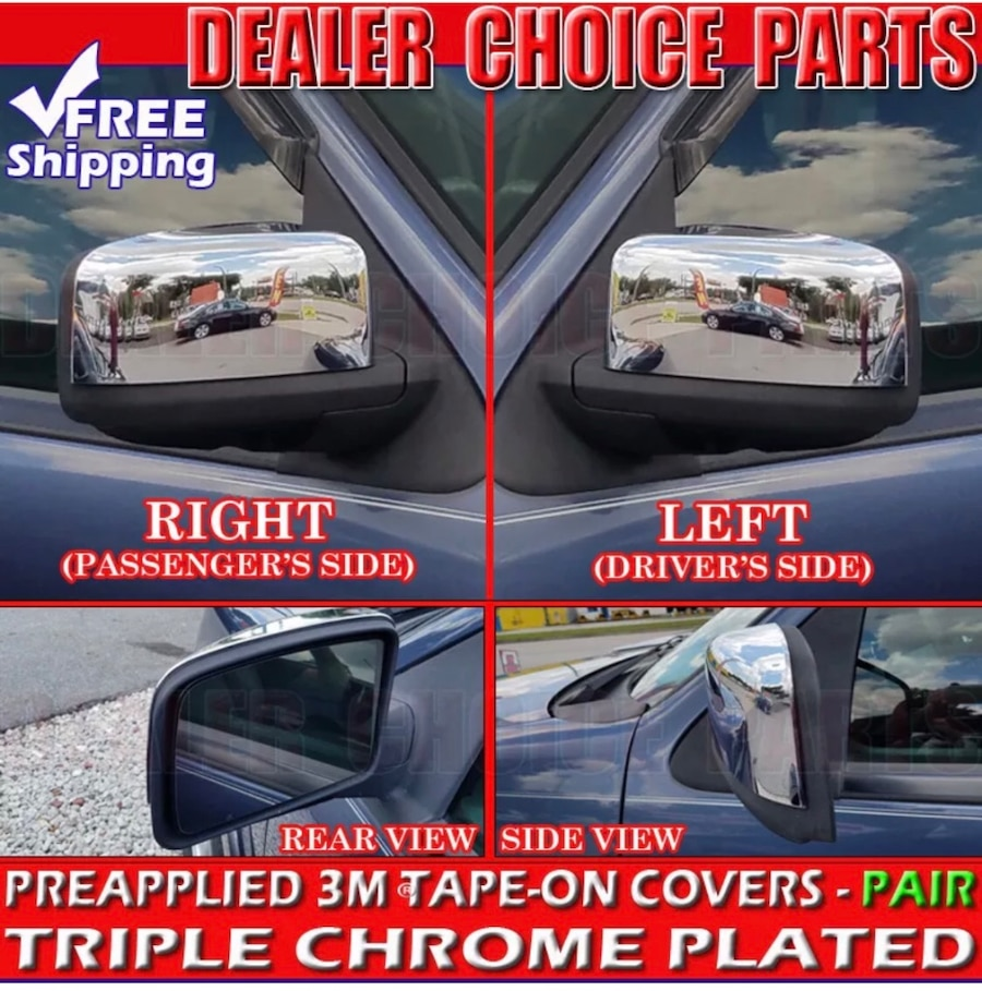 AAL FOR FORD EXPEDITION LINCOLN NAVIGATOR 03~06 CHROME MIRROR COVER
