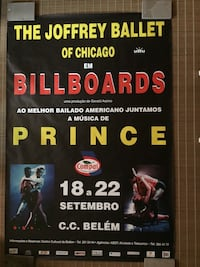 JOFFREY BALLET BILLBOARDS POSTER MUSIC BY PRINCE New York, 11225
