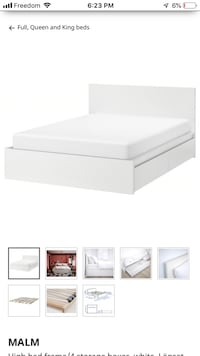 Ikea bedframe Queen with storage Toronto, M5V 3A2