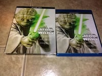 Star Wars episode 1 2 & 3 on Blu-ray and DVD Tucson, 85705
