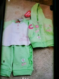 Baby girl outfit hoodie Vienna, 22180