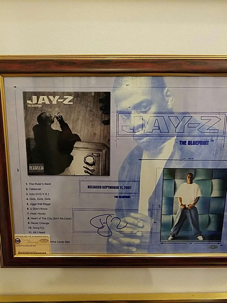 Used jay z the blueprint signed limited edition in new york malvernweather Gallery