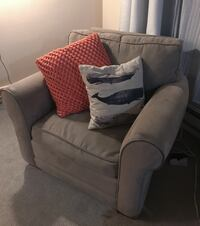 Couch and chair living room set (may buy both or just one!)