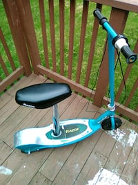 blue and gray Razor motor scooter Poolesville, 20837