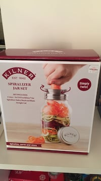 Brand new spiralizer jar set Burnaby, V5E 1J6
