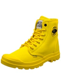 Palladium boots yellow brand new in box . Value 160$!!!Size 11 or 11.5 Montreal, H4M