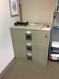 3 drawers Gardex Fire proof vault negotiable