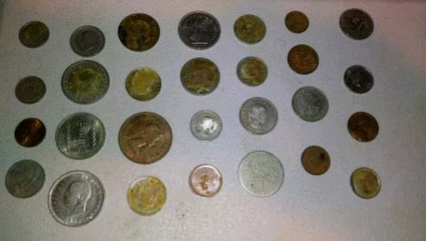 Assorted Foreign Coin Lot