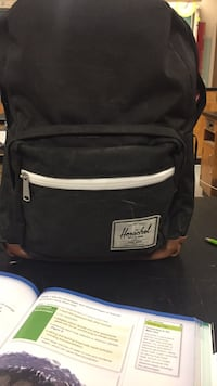 black and white Herschel backpack Toronto, M4P 1S2
