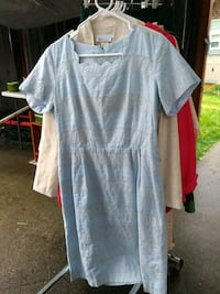 Huge lot of vintage clothes decor kitchen jewelry Tacoma, 98406
