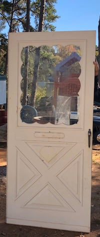 Metal Storm door w/hardware. 36 x 80 opening Stockbridge, 30281