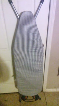Purple and white stripe ironing board Pace, 32571