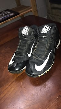 Nike alpha youth baseball cleats size 6y